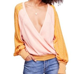 NEW LISTING - FREE PEOPLE AUXTON THERMAL WRAP TOP